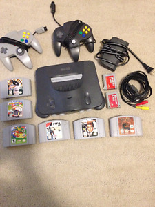 RARE - Nintendo 64, 6 games, 2 memory cards and 2 controllers