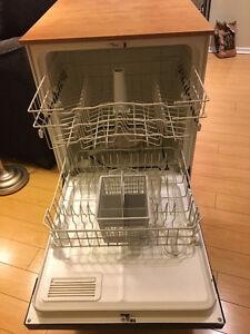 Portable GE 24-inch Dishwasher