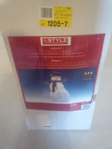 Large Outdoor Christmas Snowman LED Lights