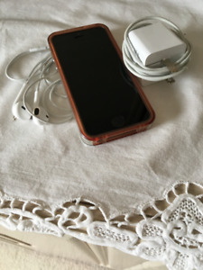 Iphone5 includes charger & ear-phones
