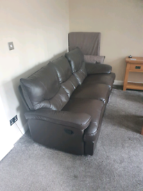 3 + 2 seater sofas - recliners