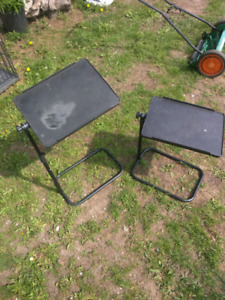 2  completely adjustable tables