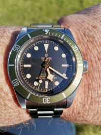 Tudor black Bay Harrods edition