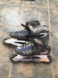 REDUCED TO SELL! Solomon Roller Blades-Women's Size 8 Cornwall Ontario image 3