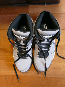 Used Nike Air Flight falcon grey Men's baskeball Shoes size 11.
