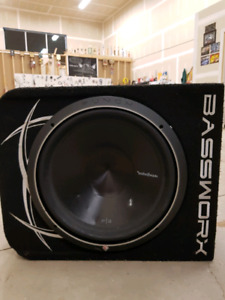15 inch sub and amp