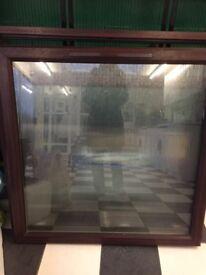 Upvc rosewood windows