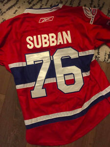 MEDIUM/LARGE P.K. SUBBAN JERSEY FOR SALE IN MINT CONDITION