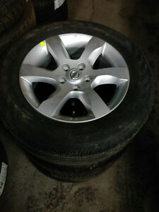 BrandNew / used 215 60 16  tires on OEM Nissan Altima OEM rims