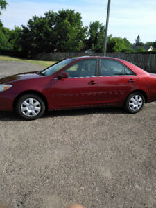 Fully certified 2002 Toyota Camry