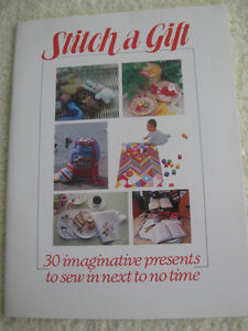 "CRAFT   ""STITCH-a-GIFT"" BOOKLET on ""HOW-TO"""