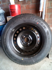 Nissan xtrail wheel