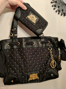 Women's Juicy Couture bag and wallet set