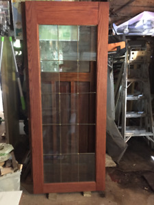 LARGE OAK WOOD DOORS