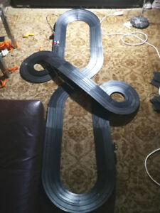 Aurora Afx slot cars 4 lane race track