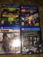 Ps4 games $15 or $40 for all