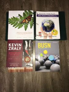 Brock University Textbooks for Sale