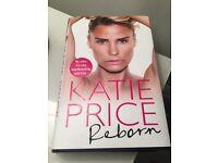 Katie Price Book Reborn Brand New