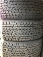 Four Like New 245/55/19 Toyo Observe Winter Tires
