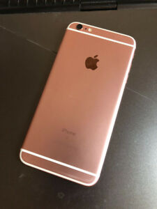 iPhone 6s plus 64g Rose Gold Unlock