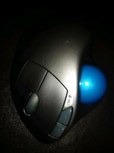 Logitech m570 souris mouse balltrack wireless