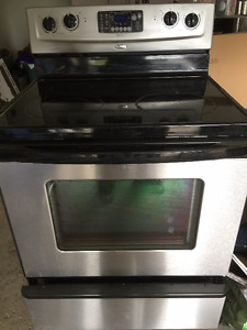 whirlpool accutemp stainless steal stove