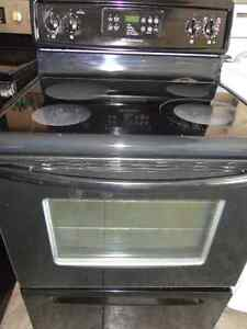 Black Glass Stoves in Excellent Condition