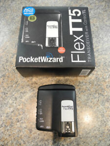 Pocket Wizard Flex TT5 Canon Transceiver w/Control TL