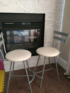Stools for sale 2 feet high and 16 inch circle seating