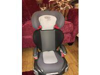 Graco car seat 15kg - 36kg age 4-12 years