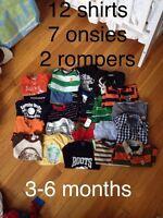 3-6 months boys lot