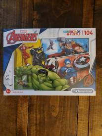 Marvel Avengers jigsaw puzzle 104 pieces