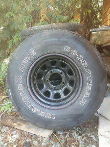 15 inch off road rims and tires
