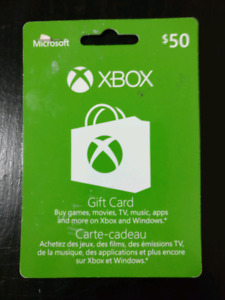 $50 XBOX gift card for $40!