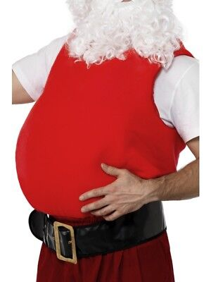 Santa Stuffer Belly Father Christmas Adult Unisex Fancy Dress Costume Accessory