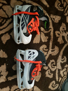 Reebok youth size 13 goalie skates