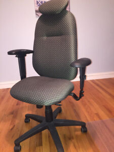 Ergo Centric High Back Chair with Head Rest