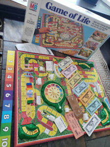 GAME OF LIFE- Vintage 1978 Board Game - 100% Complete!