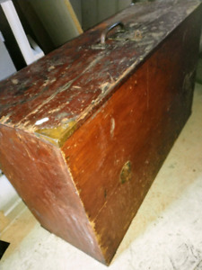 Large Wooden Toolbox