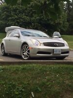 2005 g35 coupe - second owner dealer maintained with records