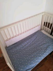IKEA wooden cot / toddler bed