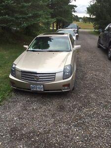 2006 Cadillac CTS.   V6. 3.6 price drop