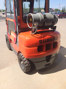 Shangli Forklift 2012 model year