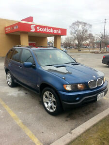 2001 BMW X5 SUV, Crossover