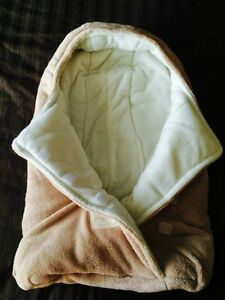 warm & cozy bag for  a car seat or stroller