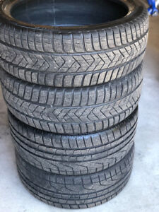 RUNFLAT Pirelli Sottozero Winter Tires - 225-40-19 and 255-35-19