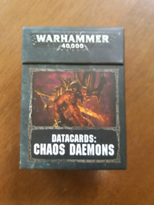 Chaos demons datacards