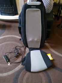 HOMEDICS BACK MASSAGER CHAIR HARDLY USED WORKS PERFECTLY FINE £20 ONO