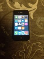 iPhone 4 fido 8 gb noir black