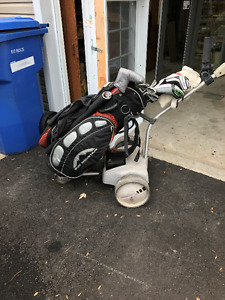 chariot de golf motoriser